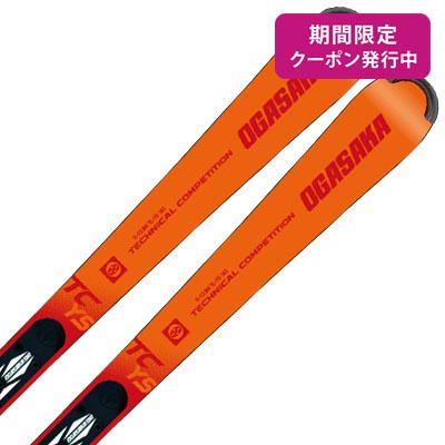 【19-20 NEWモデル】OGASAKA〔オガサカ スキー板〕<2020>TC-YOUTH〔ティーシーユース〕TC-YS + FM-600【板とプレートのみ】【送料無料】
