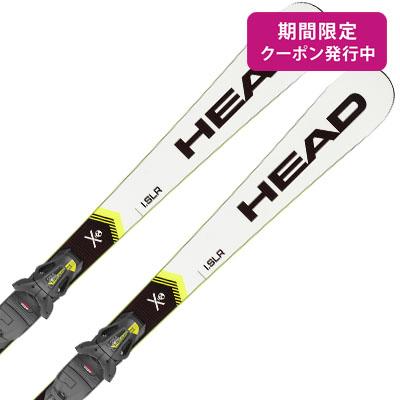 【19-20 NEWモデル】HEAD〔ヘッド スキー板〕<2020>WORLDCUP REBELS I.SLR + Allride Base + PR 11 GW【金具付き・取付送料無料】