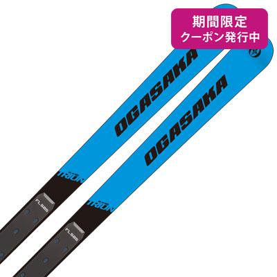 【19-20 NEWモデル】OGASAKA〔オガサカ スキー板〕<2020>TRIUN〔トライアン〕GS-M + FL585【板とプレートのみ】【送料無料】