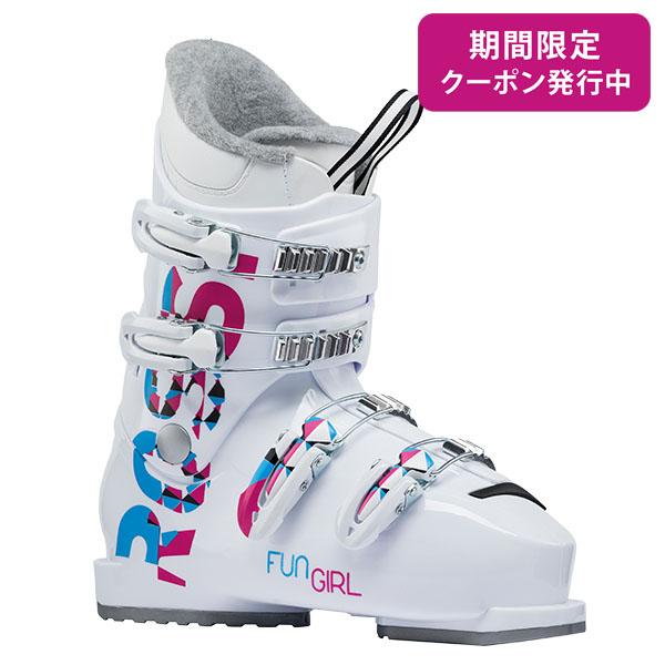 【19-20 NEWモデル】ROSSIGNOL〔ロシニョール ジュニア スキーブーツ〕<2020>FUN GIRL J4〔ファンガール J4〕 新作 最新