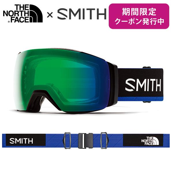 【19-20 NEWモデル】SMITH 〔スミス スキーゴーグル〕<2020>I/O MAG XL〔アイオーマグXL〕〔Smith × The North Face / Blue〕【送料無料】