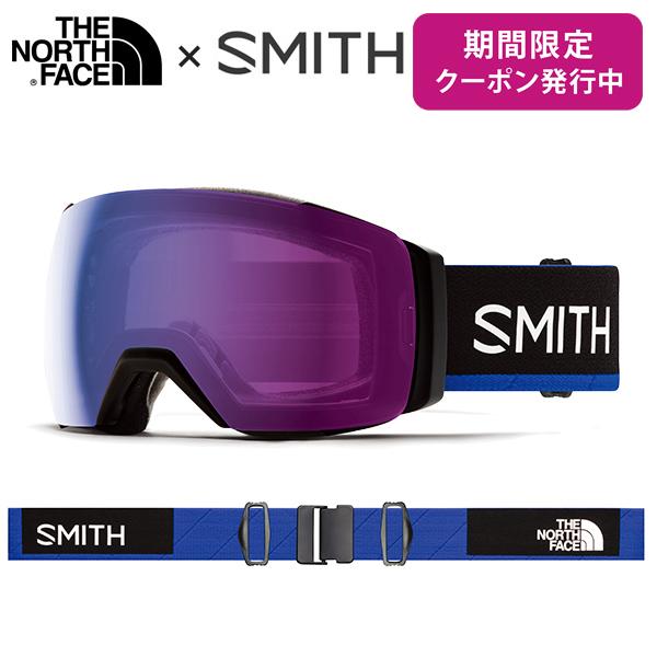【19-20 NEWモデル】SMITH 〔スミス スキーゴーグル〕<2020>I/O MAG XL〔アイオーマグXL〕〔Smith × The North Face / Blue〕【調光】【送料無料】