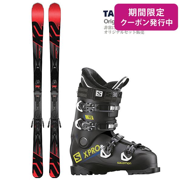 【在庫処分】【スキー セット】K2〔ケーツー スキー板〕<2018>Konic 75〔コニック75〕 + M2 10 + SALOMON〔サロモン スキーブーツ〕<2019>X PRO 90