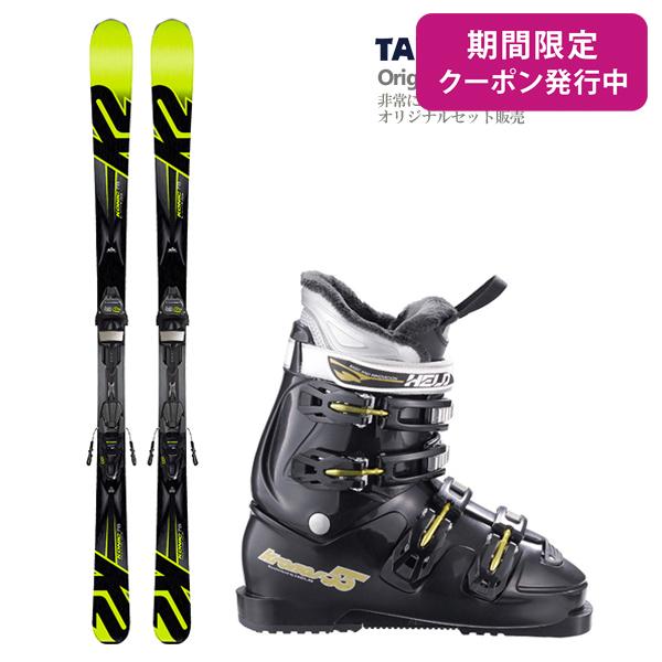 【スキー セット】K2〔ケーツー スキー板〕<2018>Konic 78〔コニック 78〕M3 10 + M3 COMPACT BLACK-YELLOW + HELD〔ヘルト スキーブーツ〕KRONOS-55