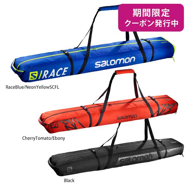 【19-20 NEWモデル】SALOMON〔サロモン 2台用 スキーケース〕<2020>EXTEND 2PAIRS 175+20 SKIBAG