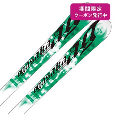 OGASAKA〔オガサカ スキー板〕<2019>プラスノー用 AG-SR/G + PR 11【金具付き・取付送料無料】 サマーゲレンデ