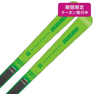 【19-20 NEWモデル】OGASAKA〔オガサカ スキー板〕<2020>TC〔ティーシー〕TC-MS + FL585 + <20>XCELL 12.0 WH/BK/RD【金具付き・取付送料無料】
