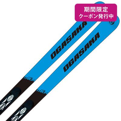 【19-20 NEWモデル】OGASAKA〔オガサカ スキー板〕<2020>TRIUN〔トライアン〕G-30 + FM-600 + <20>RX12 GW【金具付き・取付送料無料】