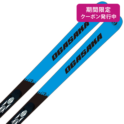 【19-20 NEWモデル】OGASAKA〔オガサカ スキー板〕<2020>TRIUN〔トライアン〕G-30 + FM-600 + <17>RACE 16 pd.rd/wh【金具付き・取付送料無料】