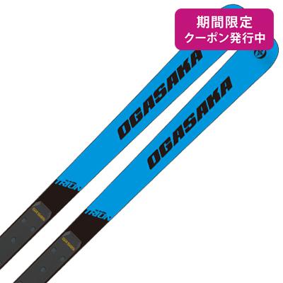 【19-20 NEWモデル】OGASAKA〔オガサカ スキー板〕<2020>TRIUN〔トライアン〕GS-30 + GR585N + <18>XCELL 16.0 WT/BK/RD【金具付き・取付送料無料】