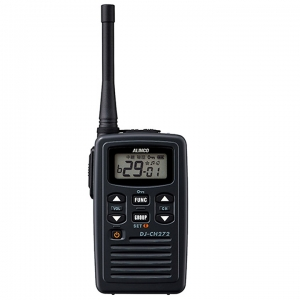 インカム 無線機 トランシーバー DJ-CH272 アルインコ 防沫型【本州・四国は送料無料】