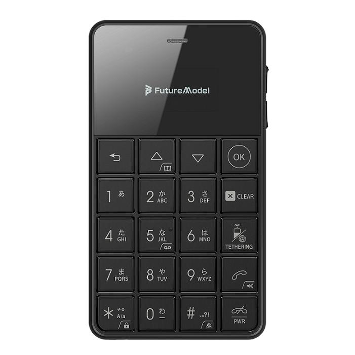 Future Model フューチャーモデル NichePhone-S-4G ブラック 「MOB-N18-01-BK」 シムフリー携帯電話 SIMフリー ニッチホン【本州・四国は送料無料】