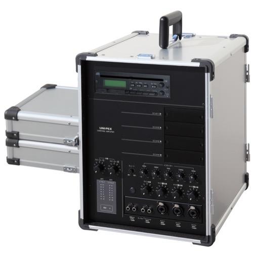 CGA-134CDA ユニペックス キャリングアンプ(65W+65W ハイ/ロー切替 CD付) UNI-PEX【本州・四国は送料無料】