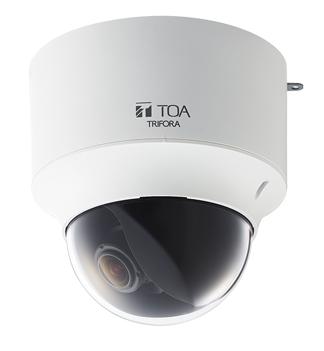 N-C3200-3 ド-ム型フルHDネットワ-クカメラ TOA