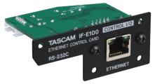 IF-E100 CD-400U用イーサネットコントロールカード TASCAM 買物 永遠の定番モデル