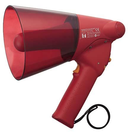 ER-1106S 防滴メガホン 6W サイレン音付【TOA】【smtb-u】ER-1106S【本州・四国は送料無料】