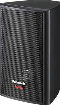 WS-M10T-K パナソニック 新作 大人気 国内即発送 コンパクトスピーカー トランス内蔵 12cmコーン形スピーカー Panasonic