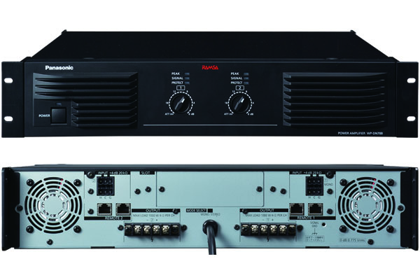 WP-DN700 Panasonic RAMSA デジタルパワーアンプ(700w*2ch)