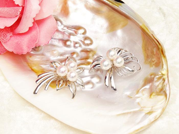 【アコヤ真珠】選べる5種のブローチ-アコヤ真珠8mm 3p タイプ【送料無料】【あす楽対応】【smtb-m】【入学】【卒業】【冠婚葬祭】【成人式】【真珠 パール】