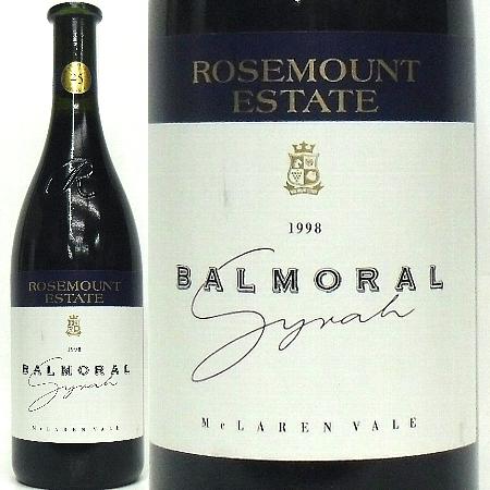ローズマウント、バルモラル シラー 1998 マクラーレン・ヴェイル (赤) 750ml