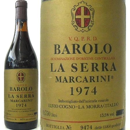 マルカリーニ、バローロ ラ・セッラ 1974 D.O.C 赤 750ml
