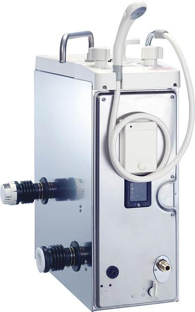 ノーリツ ガスバランス釜   シャワー付    浴室内設置:GBSQ-821D BL- LPG(プロパンガス)           8.5号本体()∴