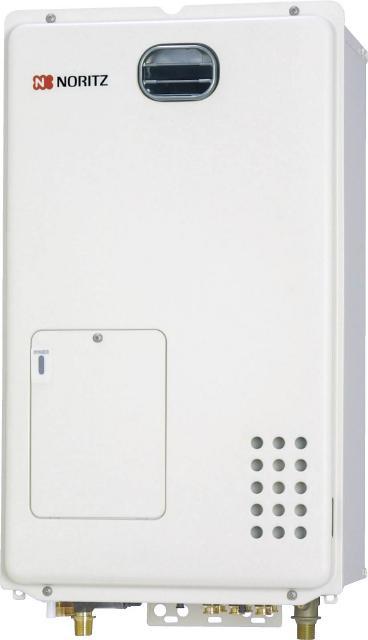 ノーリツ ガス暖房専用 --- 1温度接続 屋外壁掛 :GH-1210W BL- LPG(プロパンガス) 本体(リモコン別途)∴