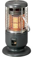 ŧ§ あす楽対応品 リンナイ ガス赤外線ストーブ 日本製 全周放射タイプ C -都市ガス∴ :R-1290VMS3 即納送料無料