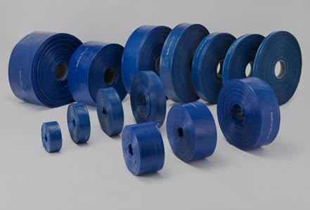 カクイチ 送水サニーホース(巻物) マックスフローSD 青 : 150 x100 m巻∴∴ デリバリー 送水