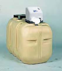 川本製作所 インバーターポンプ ソフトカワエース 500L・ポリエチレン製受水槽付:NF3-750 +TAB-50 三相200V 750w∴∴