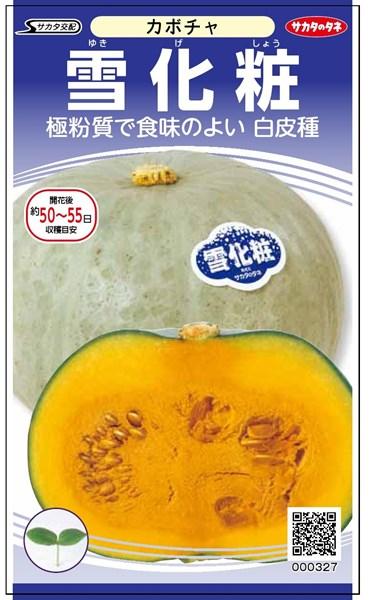 カボチャ 種 『雪化粧』 500粒 サカタのタネ
