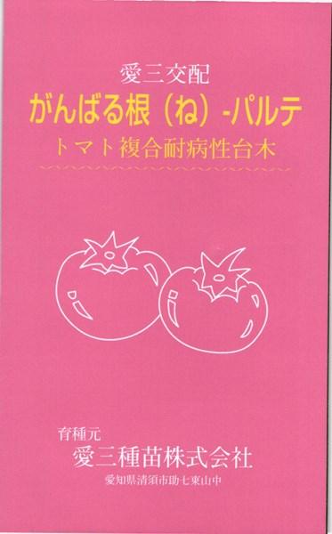 トマト台木 種 『がんばる根パルテ』 コート1000粒 愛三種苗