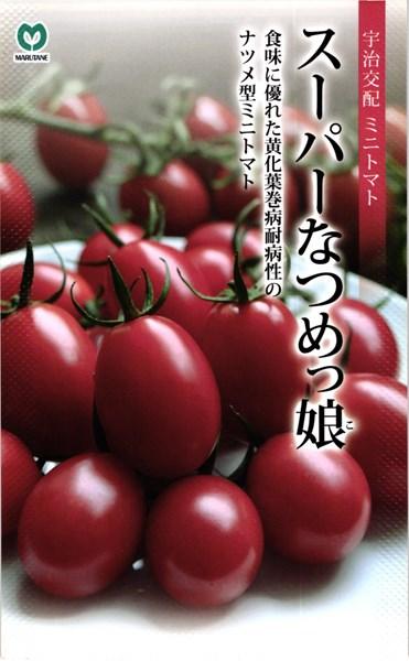 ミニトマト 種 『スーパーなつめっ娘。』 500粒 丸種