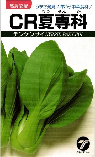 チンゲンサイ 種 『CR夏専科』 2dl タカヤマシード