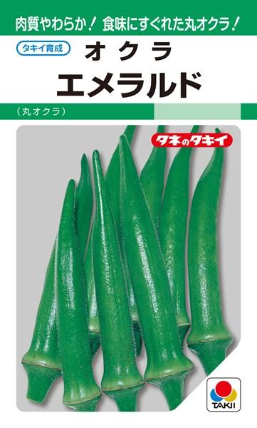 オクラ 種 『エメラルド』 1万粒 タキイ種苗