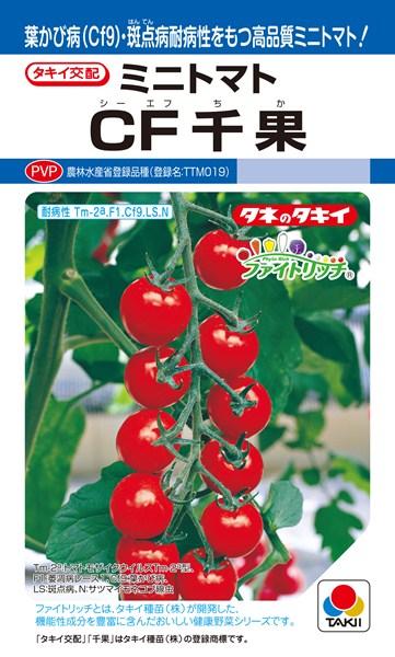 ミニトマト 種 『CF千果』 1000粒 タキイ種苗