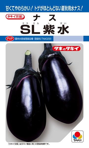 水ナス 種 『SL紫水』 1000粒 タキイ種苗