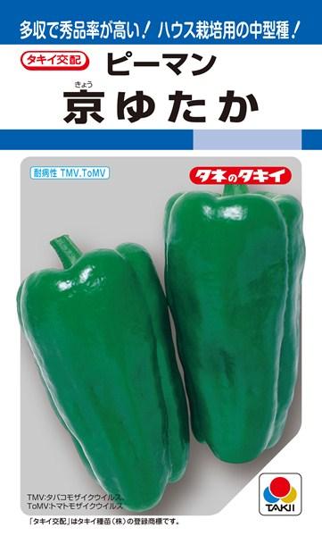 ピーマン 種 『京ゆたか』 1000粒 タキイ種苗