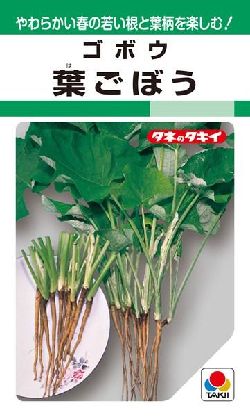 ゴボウ 種 『葉ごぼう』 1L タキイ種苗