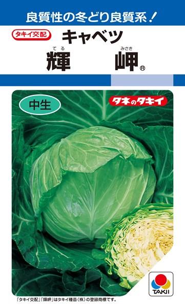 春系及び春キャベツ 種 『輝岬』 ペレットL5000粒 タキイ種苗