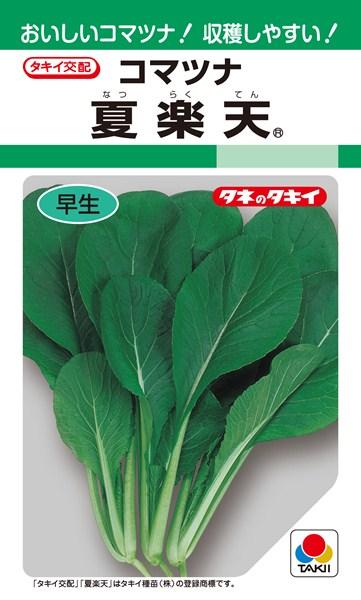 コマツナ 種 『夏』 1L タキイ種苗