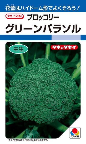 ブロッコリー 種 『グリーンパラソル』 ペレットL5000粒 タキイ種苗
