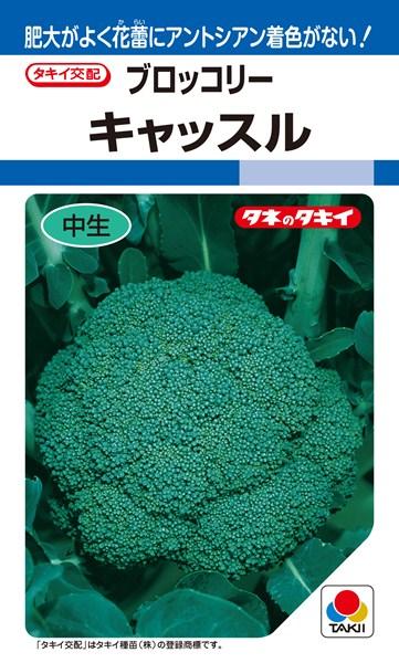 ブロッコリー 種 『キャッスル』 ペレットL5000粒 タキイ種苗