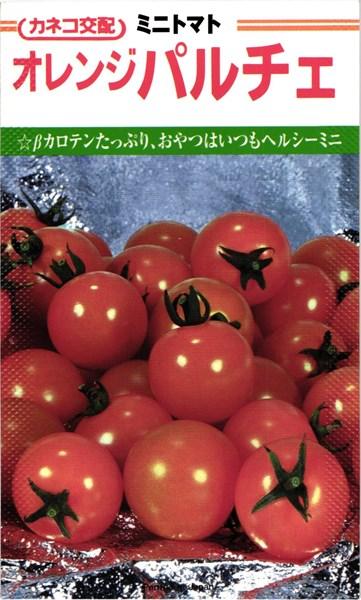 カネコ種苗 トマト オレンジパルチェ コート600粒