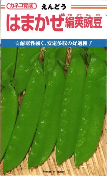 カネコ種苗 エンドウ えんどう豆 はまかぜ絹莢 1L