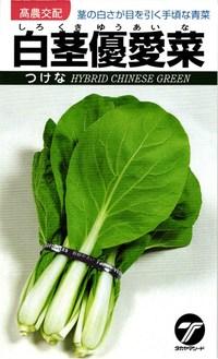茎の白さが目を引く手頃な青菜 人気急上昇 蔵 たね タカヤマシード ツケナ 2dl 漬菜 白茎優愛菜