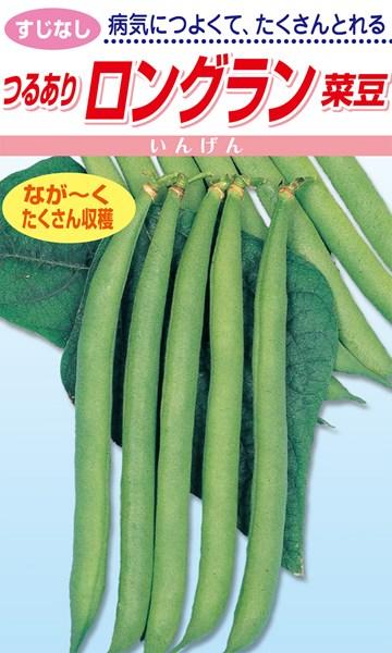 病気につよくて たくさんとれる [並行輸入品] 選択 松永種苗 つるありロングラン菜豆 菜豆 1L
