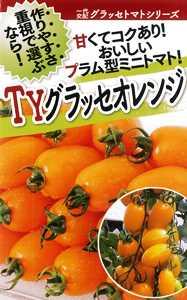 フタバ種苗 TYグラッセ・オレンジ 1000粒