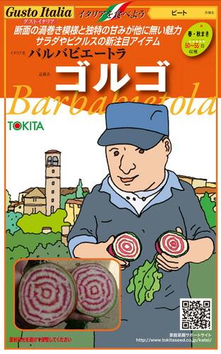 砂糖大根やテーブルビートとも呼ばれる根菜 購買 ショップ トキタ種苗 イタリア野菜 ゴルゴ 1000粒