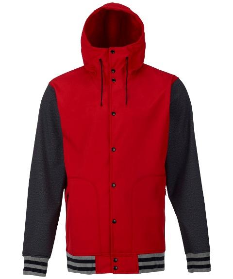 BURTON MB Capital Softshell Jacket PROCESS RED 2017FW【40%OFF】